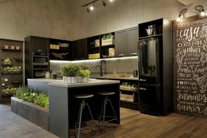 Cozinha Linhas Industriais