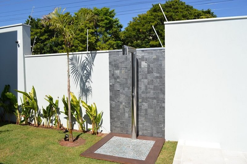 Duchas para jardim exterior