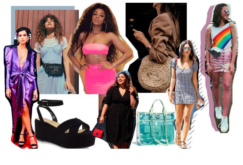Tendências de moda primavera